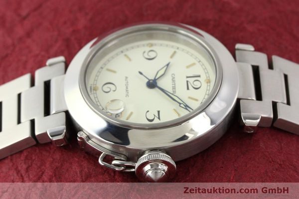 Used luxury watch Cartier Pasha steel automatic  | 141241 05