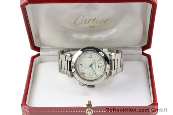 Used luxury watch Cartier Pasha steel automatic  | 141241 07