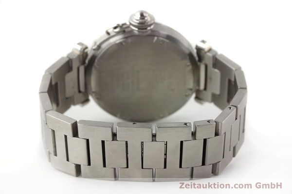 Used luxury watch Cartier Pasha steel automatic  | 141241 11