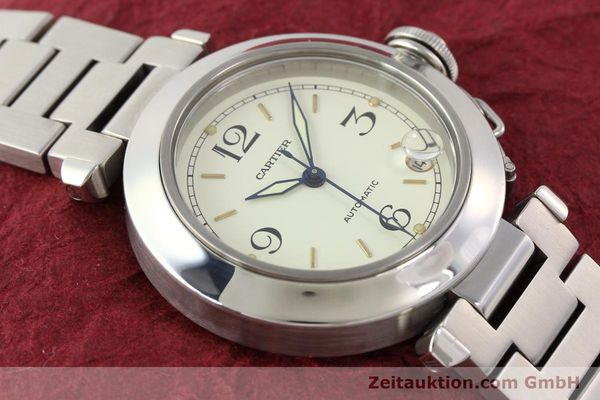 Used luxury watch Cartier Pasha steel automatic  | 141241 14