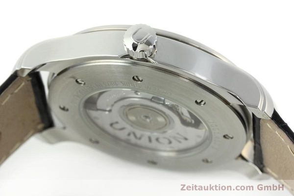 Used luxury watch Union Glashütte Viro steel automatic Kal. U2892A2 Ref. D001.407A  | 141242 11