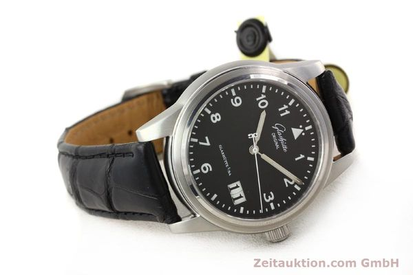 Used luxury watch Glashütte Senator steel automatic Kal. 38-42  | 141243 03