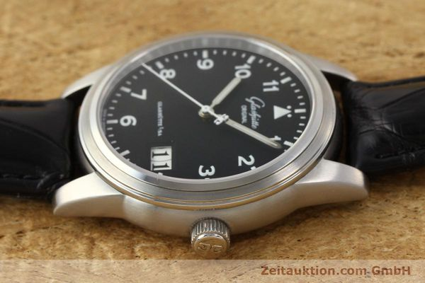 Used luxury watch Glashütte Senator steel automatic Kal. 38-42  | 141243 05