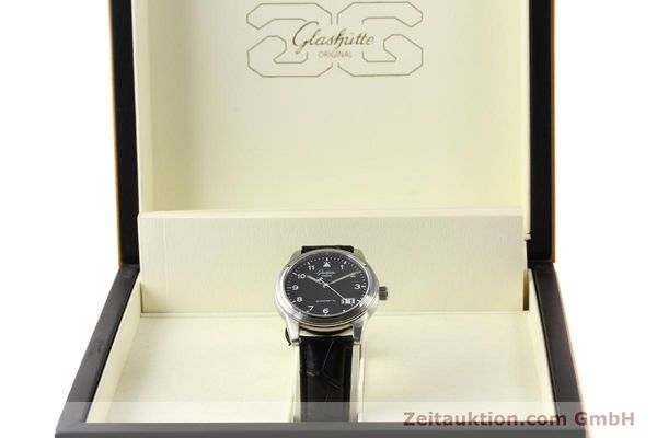 Used luxury watch Glashütte Senator steel automatic Kal. 38-42  | 141243 07