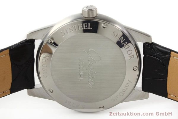 Used luxury watch Glashütte Senator steel automatic Kal. 38-42  | 141243 09