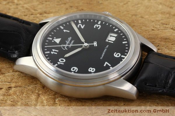 Used luxury watch Glashütte Senator steel automatic Kal. 38-42  | 141243 15