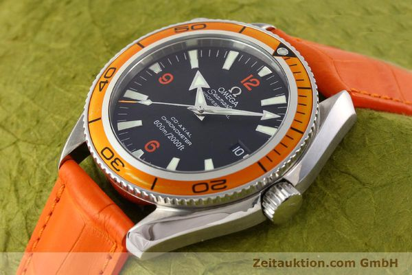 Used luxury watch Omega Seamaster steel automatic Kal. 2500C Ref. 29095038  | 141244 01