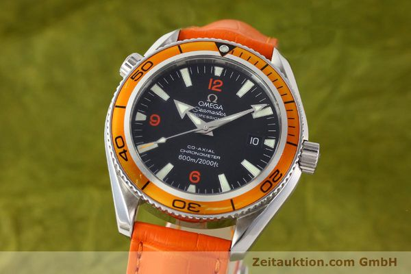 Used luxury watch Omega Seamaster steel automatic Kal. 2500C Ref. 29095038  | 141244 04