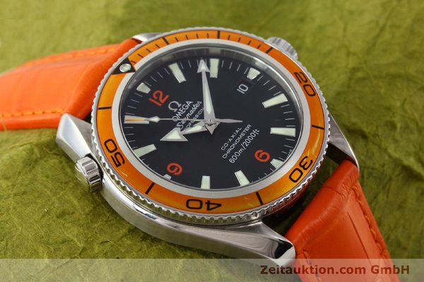Used luxury watch Omega Seamaster steel automatic Kal. 2500C Ref. 29095038  | 141244 18