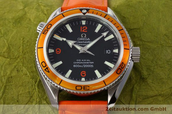 Used luxury watch Omega Seamaster steel automatic Kal. 2500C Ref. 29095038  | 141244 19