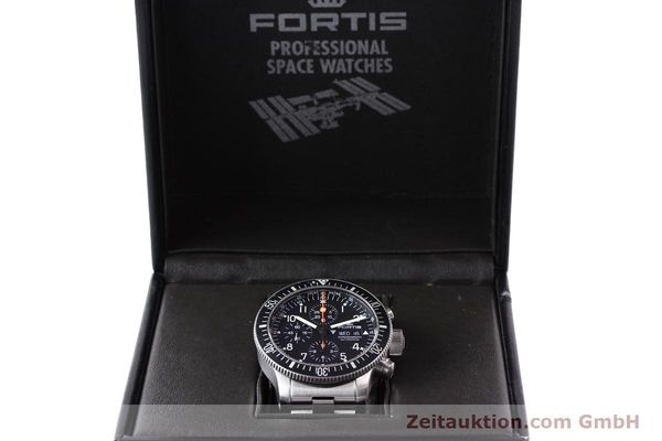Used luxury watch Fortis B42 steel automatic Kal. ETA 7750 Ref. 638.10.141  | 141245 07