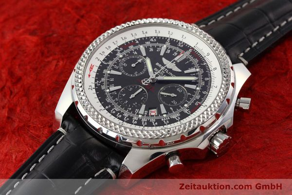 Used luxury watch Breitling Bentley steel automatic Kal. B25 ETA 2892A2 Ref. A25362  | 141252 01