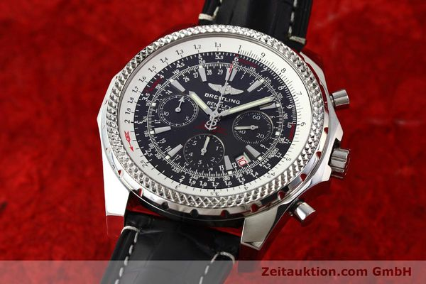 Used luxury watch Breitling Bentley steel automatic Kal. B25 ETA 2892A2 Ref. A25362  | 141252 04