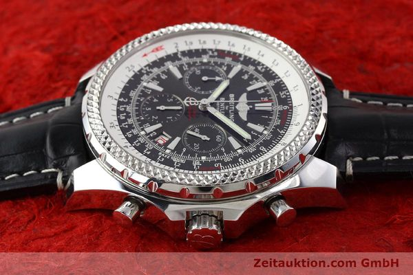 Used luxury watch Breitling Bentley steel automatic Kal. B25 ETA 2892A2 Ref. A25362  | 141252 05