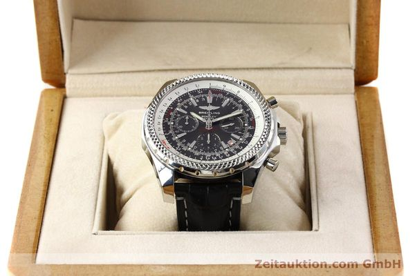 Used luxury watch Breitling Bentley steel automatic Kal. B25 ETA 2892A2 Ref. A25362  | 141252 07