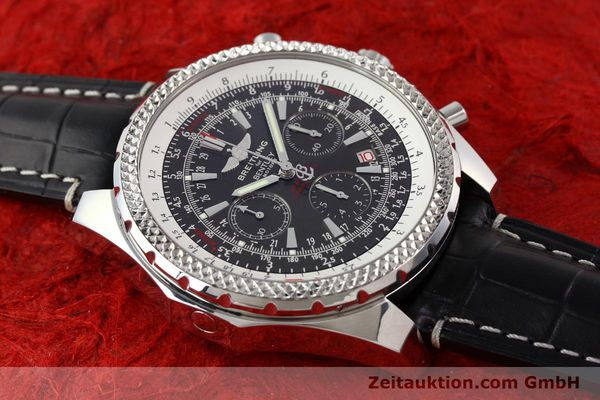 Used luxury watch Breitling Bentley steel automatic Kal. B25 ETA 2892A2 Ref. A25362  | 141252 13
