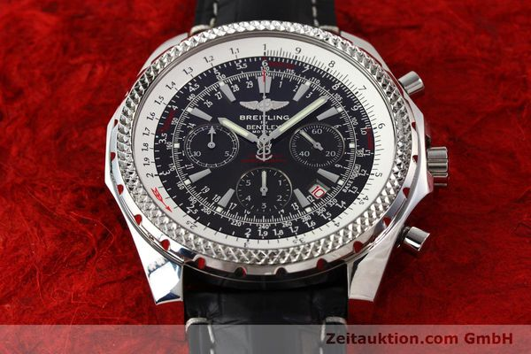 Used luxury watch Breitling Bentley steel automatic Kal. B25 ETA 2892A2 Ref. A25362  | 141252 14