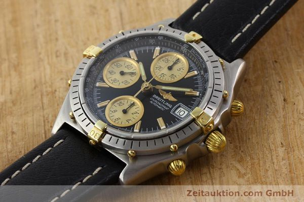 Used luxury watch Breitling Chronomat gilt steel automatic Kal. VAL 7750 Ref. 81950  | 141253 01