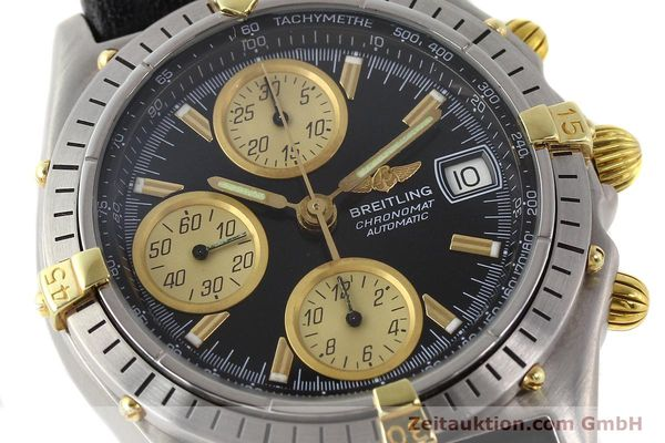 Used luxury watch Breitling Chronomat gilt steel automatic Kal. VAL 7750 Ref. 81950  | 141253 02