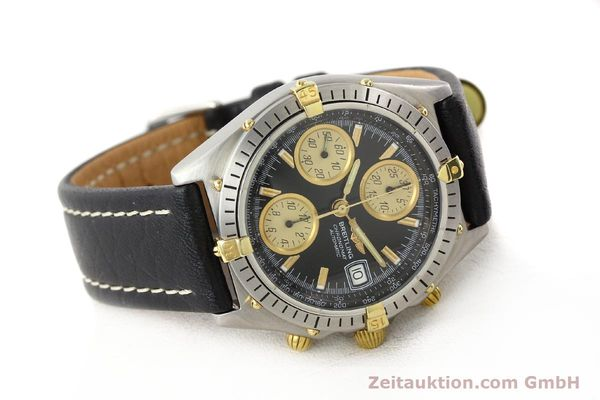 Used luxury watch Breitling Chronomat gilt steel automatic Kal. VAL 7750 Ref. 81950  | 141253 03