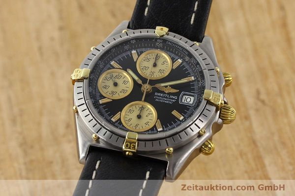 Used luxury watch Breitling Chronomat gilt steel automatic Kal. VAL 7750 Ref. 81950  | 141253 04