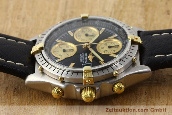 Used luxury watch Breitling Chronomat gilt steel automatic Kal. VAL 7750 Ref. 81950  | 141253 05