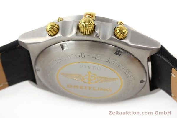 Used luxury watch Breitling Chronomat gilt steel automatic Kal. VAL 7750 Ref. 81950  | 141253 08