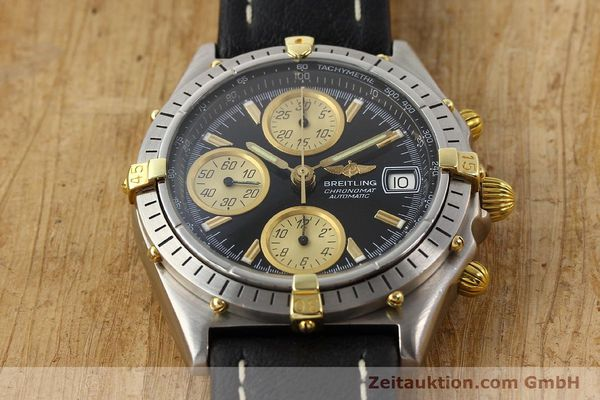 Used luxury watch Breitling Chronomat gilt steel automatic Kal. VAL 7750 Ref. 81950  | 141253 13