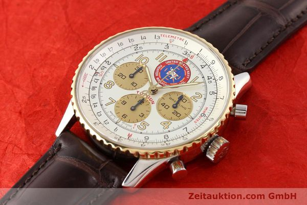 Used luxury watch Breitling Navitimer steel / gold automatic Kal. ETA 2892A2 Ref. D30022  | 141254 01