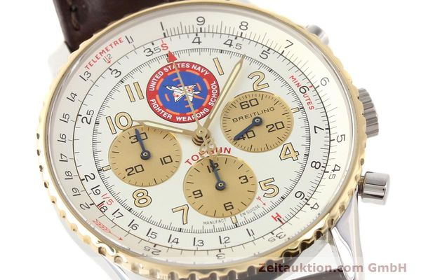 Used luxury watch Breitling Navitimer steel / gold automatic Kal. ETA 2892A2 Ref. D30022  | 141254 02