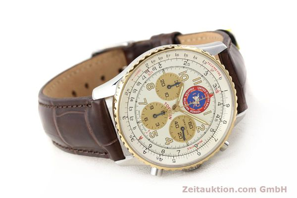 Used luxury watch Breitling Navitimer steel / gold automatic Kal. ETA 2892A2 Ref. D30022  | 141254 03