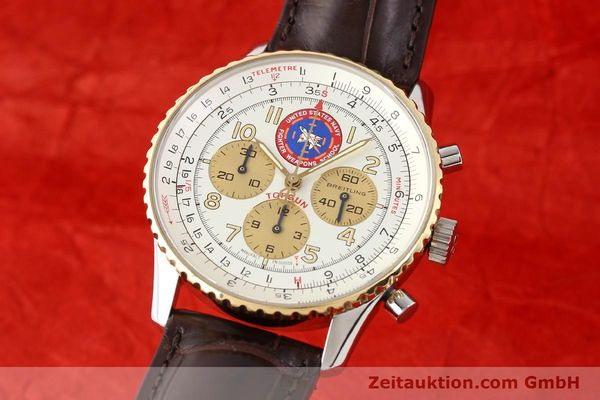 Used luxury watch Breitling Navitimer steel / gold automatic Kal. ETA 2892A2 Ref. D30022  | 141254 04