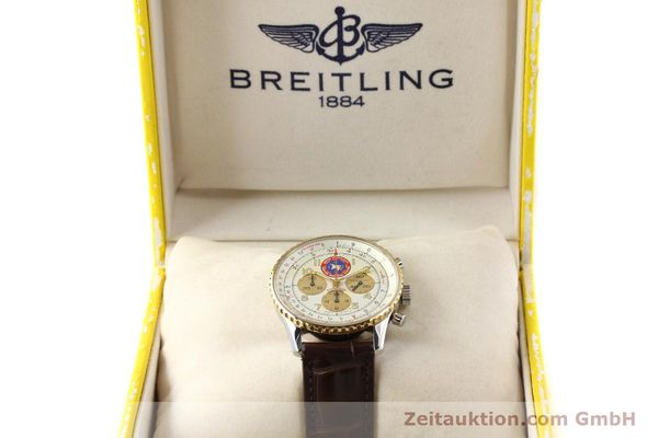 Used luxury watch Breitling Navitimer steel / gold automatic Kal. ETA 2892A2 Ref. D30022  | 141254 07