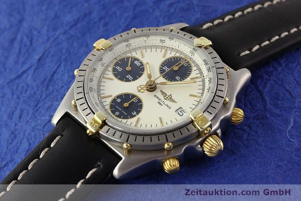 Used luxury watch Breitling Chronomat gilt steel automatic Kal. ETA 7750 Ref. 81950  | 141258 01