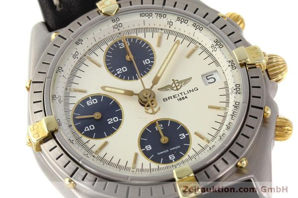 Used luxury watch Breitling Chronomat gilt steel automatic Kal. ETA 7750 Ref. 81950  | 141258 02