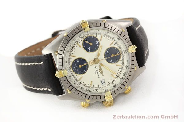 Used luxury watch Breitling Chronomat gilt steel automatic Kal. ETA 7750 Ref. 81950  | 141258 03