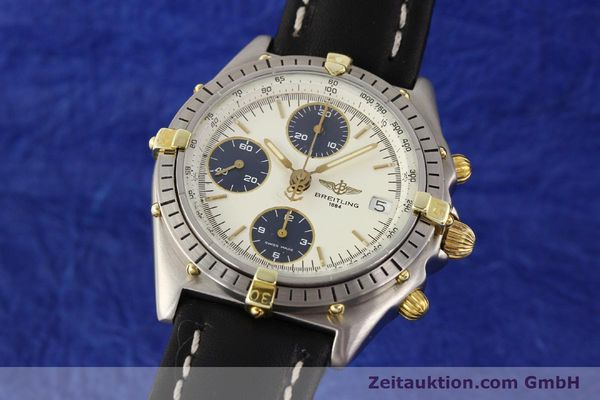 Used luxury watch Breitling Chronomat gilt steel automatic Kal. ETA 7750 Ref. 81950  | 141258 04