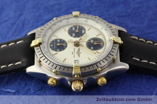 Used luxury watch Breitling Chronomat gilt steel automatic Kal. ETA 7750 Ref. 81950  | 141258 05