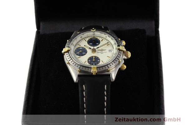 Used luxury watch Breitling Chronomat gilt steel automatic Kal. ETA 7750 Ref. 81950  | 141258 07