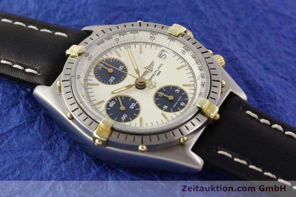 Used luxury watch Breitling Chronomat gilt steel automatic Kal. ETA 7750 Ref. 81950  | 141258 13