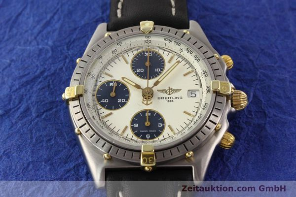 Used luxury watch Breitling Chronomat gilt steel automatic Kal. ETA 7750 Ref. 81950  | 141258 14
