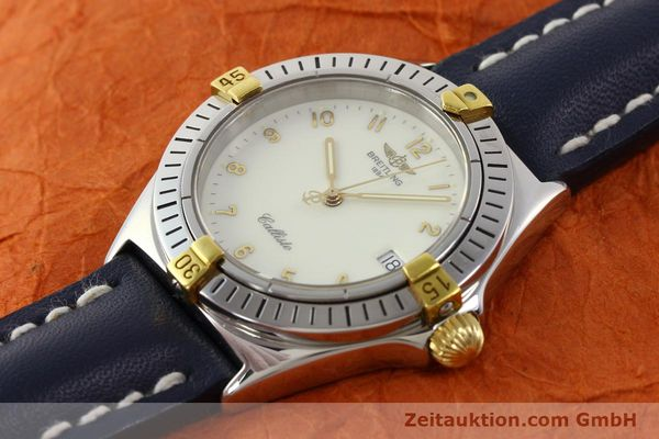 Used luxury watch Breitling Callisto gilt steel quartz Kal. B57 Ref. B57045  | 141261 01