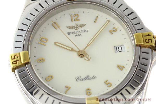 Used luxury watch Breitling Callisto gilt steel quartz Kal. B57 Ref. B57045  | 141261 02