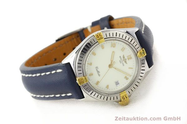 Used luxury watch Breitling Callisto gilt steel quartz Kal. B57 Ref. B57045  | 141261 03
