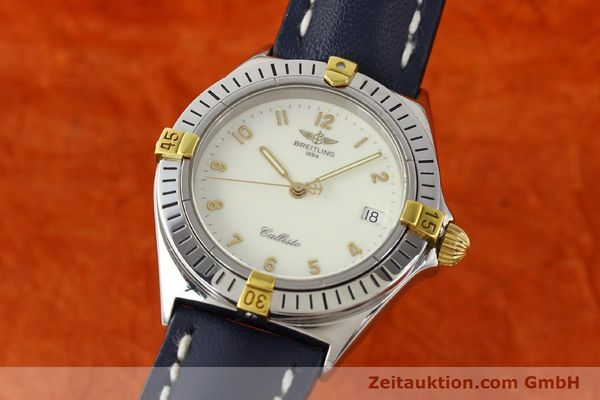 Used luxury watch Breitling Callisto gilt steel quartz Kal. B57 Ref. B57045  | 141261 04