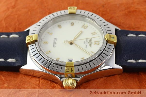 Used luxury watch Breitling Callisto gilt steel quartz Kal. B57 Ref. B57045  | 141261 05