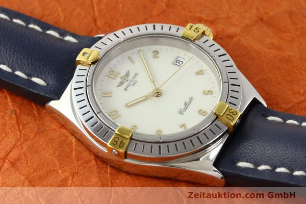 Used luxury watch Breitling Callisto gilt steel quartz Kal. B57 Ref. B57045  | 141261 12