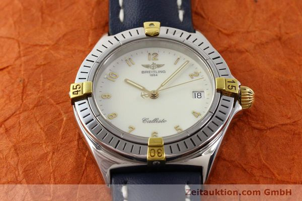 Used luxury watch Breitling Callisto gilt steel quartz Kal. B57 Ref. B57045  | 141261 13