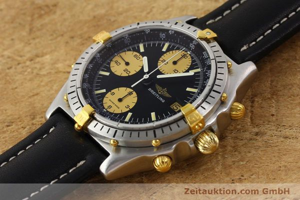 Used luxury watch Breitling Chronomat gilt steel automatic Kal. VAL 7750 Ref. 81.950  | 141262 01