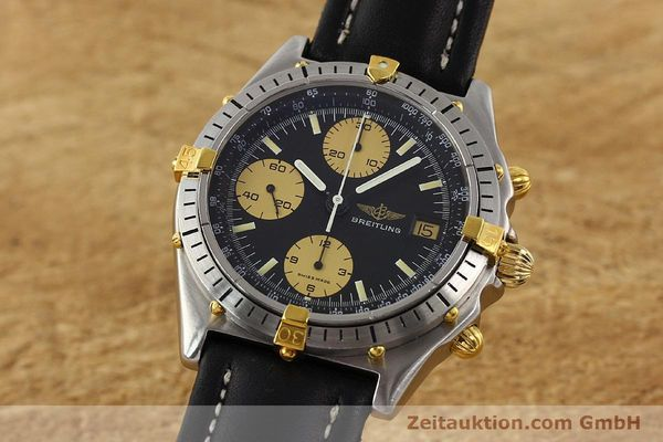 Used luxury watch Breitling Chronomat gilt steel automatic Kal. VAL 7750 Ref. 81.950  | 141262 04